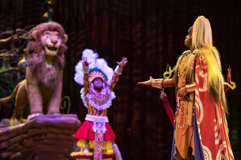 """As live entertainment and Disney performers continue to return to Walt Disney World Resort in Lake Buena Vista, Fla., """"A Celebration of Festival of the Lion King"""" will debut May 15, 2021, at Disney's Animal Kingdom."""