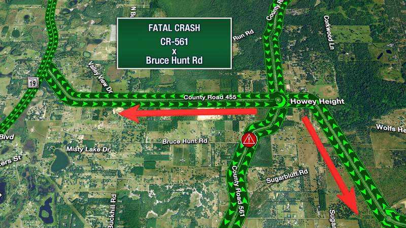 Fatal crash reported at County Road 561