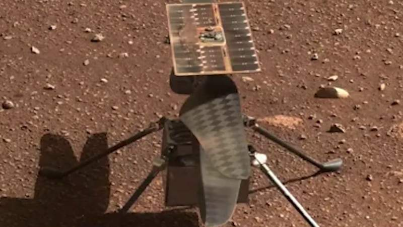 NASA's tiny helicopter is ready to fly on Mars