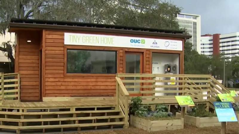 Tiny Green Home at Orlando Science Center offers hands-on experience