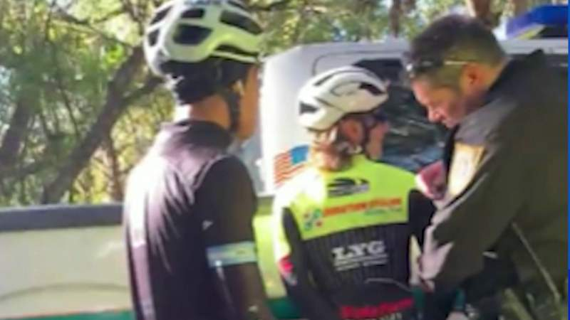 18-year-old bicyclist jailed, family says arrest is 'concerning'