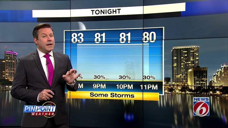 More rain in Central Florida forecast