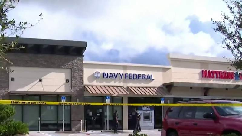 Woman shot, killed outside Navy Federal Credit Union in Orlando