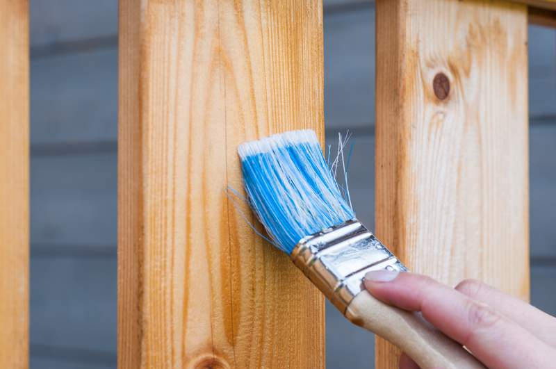 Did you paint a room or stain a deck during quarantine?