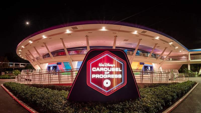Exterior of Carousel of Progress, the Magic Kingdom