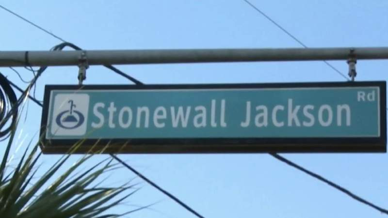 Orlando city leaders approve name change of Stonewall Jackson Road