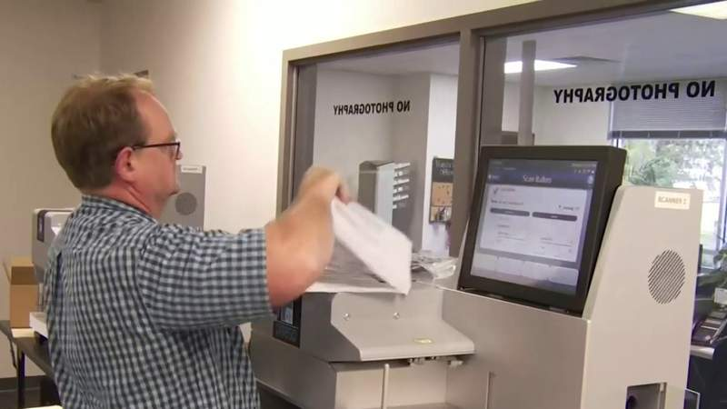 Behind the process of counting vote-by-mail ballots