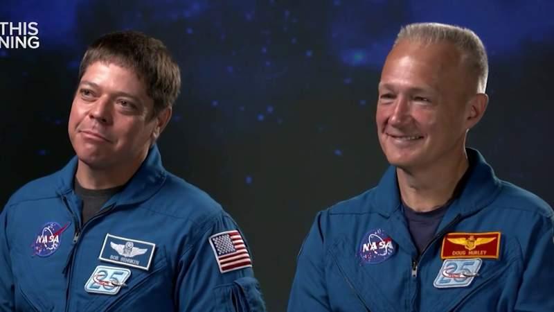 Calm under pressure: 2 NASA astronauts prepare to return glory of human spaceflight to America