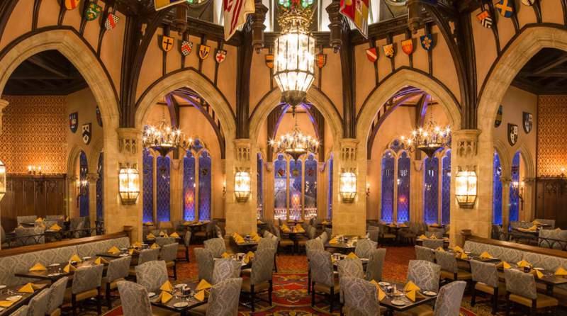 Cinderella's Royal Table at Magic Kingdom