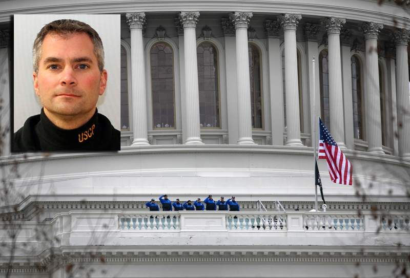 Officer Brian Sicknick died as a result of his injuries sustained while engaging rioters at the Capitol