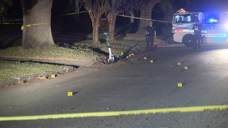 Shots fired outside Orlando home.