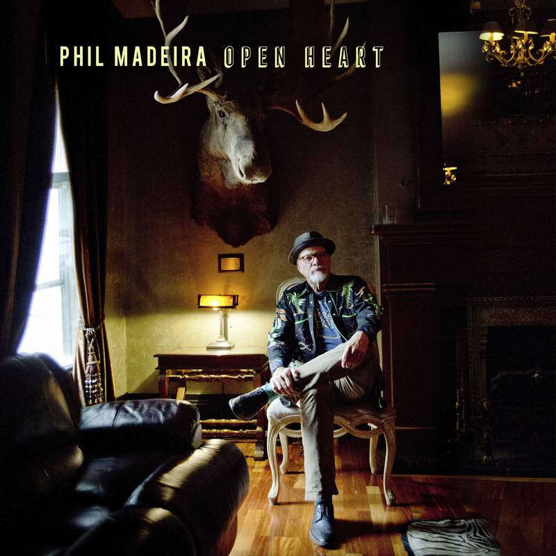 This image provided by Mercyland Records in February 2020 shows the cover for the album Open Heart by Phil Madeira. (Stacie Huckeba/Mercyland Records via AP)
