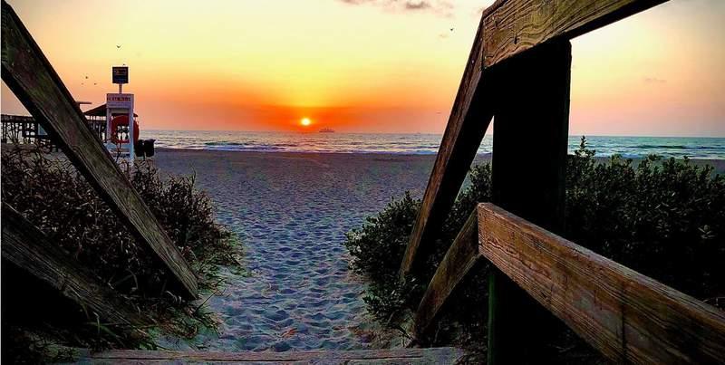 Cocoa Beach sunrise.