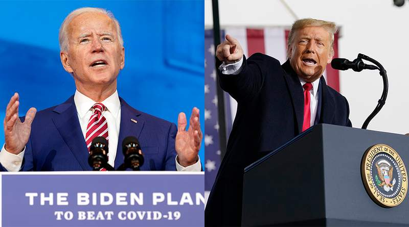 A new CNU poll shows that Biden is leading Trump 53%-41% among likely Virginia voters in the final week before Election Day