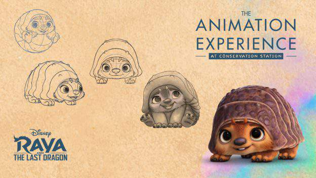 New character at animation experience and sand sculpture coming to Disney's Animal Kingdom