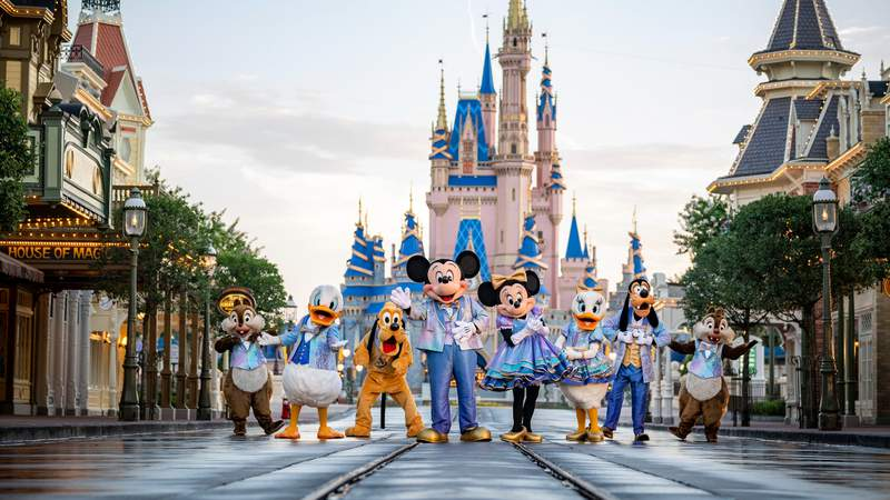 Walt Disney World preparing to celebrate its 50th anniversary on Oct. 1, 2021