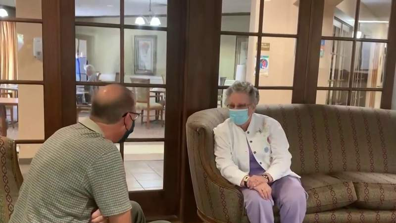 'She did light up when she saw me:' Families begin to reunite in long-term care facilities