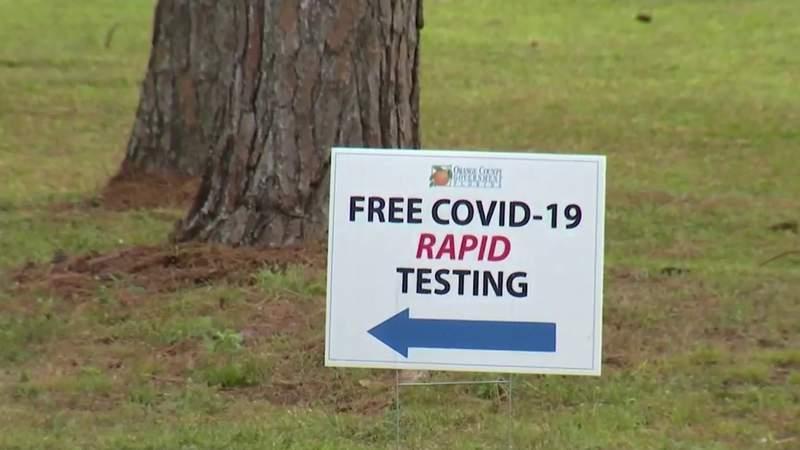 Barnett Park coronavirus testing site to remain open until Feb. 28