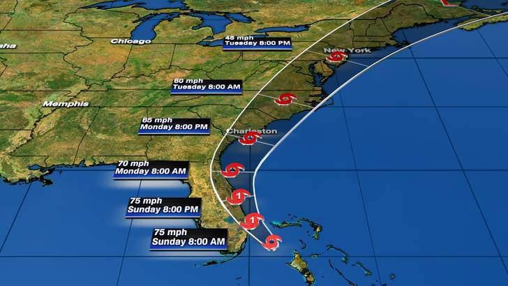 Tropical Storm Isaias: Saturday 11 p.m.