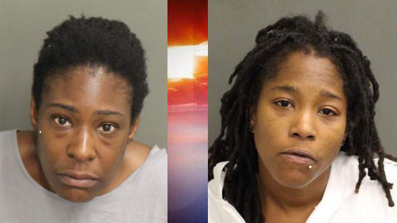 Nadia Wright-Robinson, left, and Chiquita Howard, right.