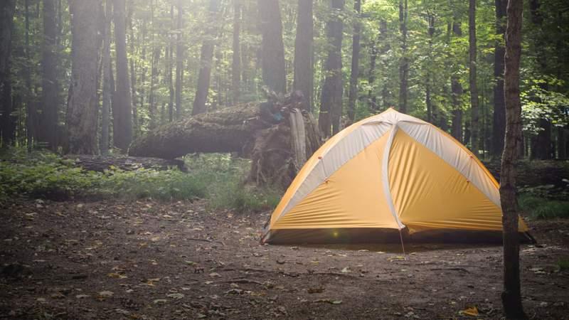 Generic photo of a campsite.