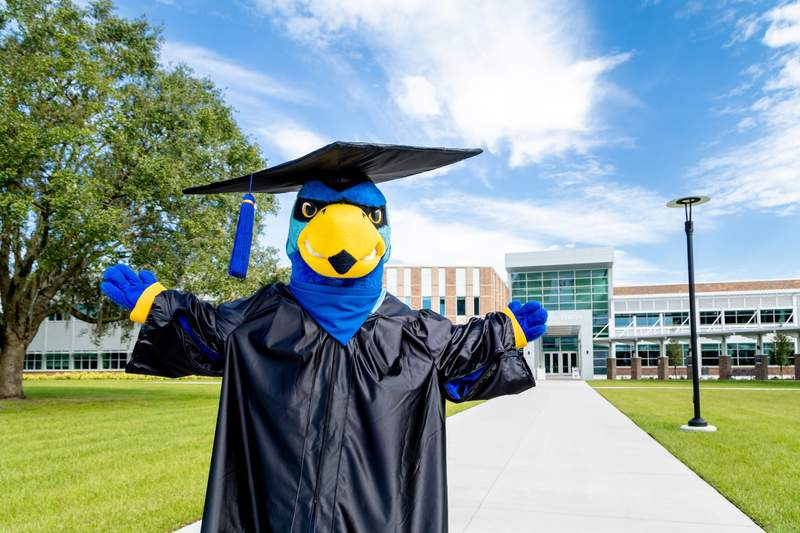 Graduates can participate in the May 20 virtual ceremony and choose to walk on stage for the Fall 2020 commencement.