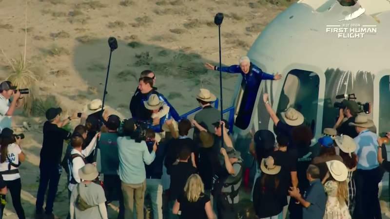 Blue Origin New Shepard landing