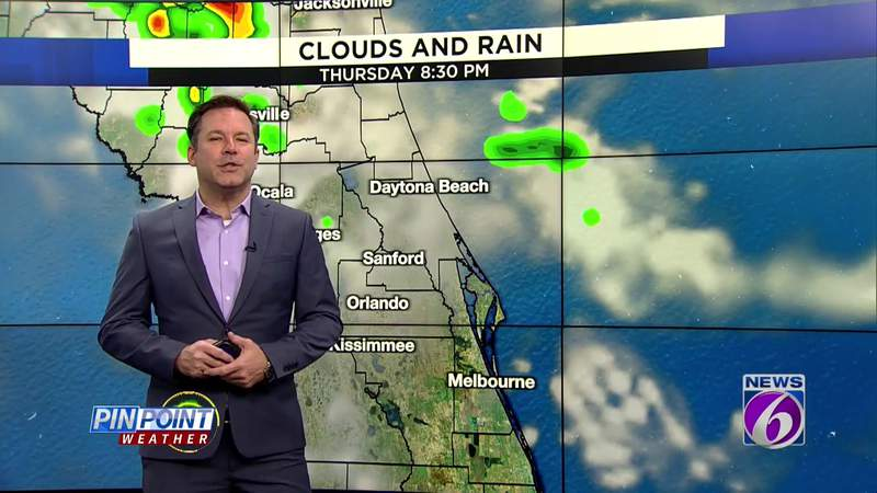 Another hot fall day on tap in Central Florida