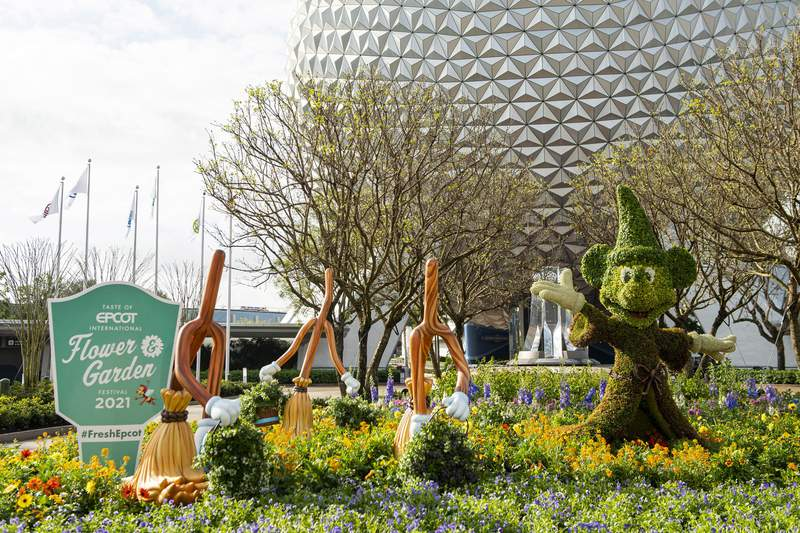 The Taste of EPCOT International Flower & Garden Festival blossoms to life March 3-July 5, 2021