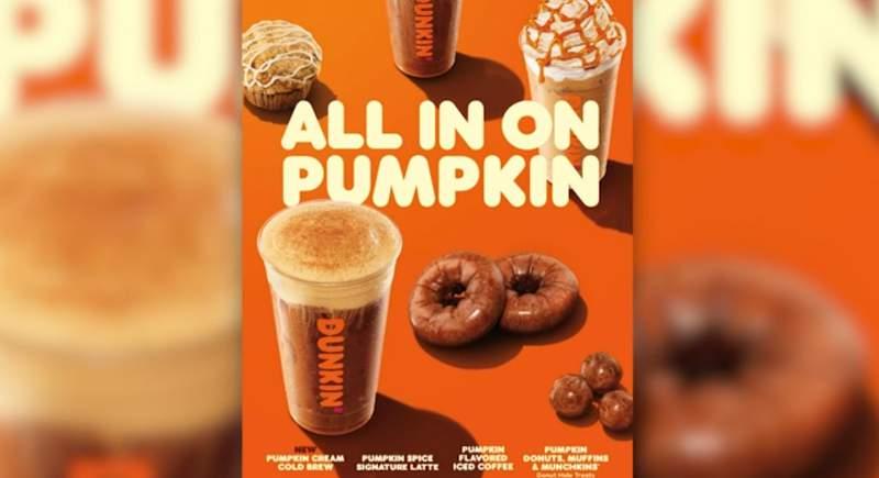 Dunkin' ready to launch fall menu (CNN Newsource)