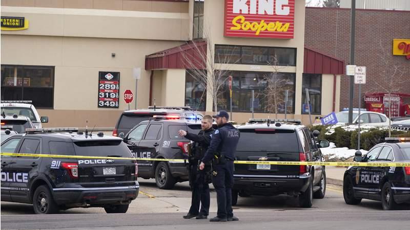 10 people killed inside Boulder, Colorado, grocery store.