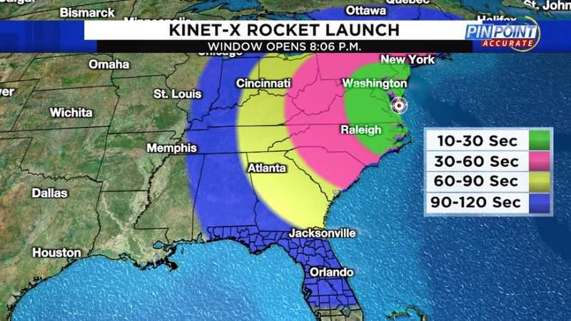 NASA rocket launch could bring 'glowing phenomenon' to Florida skies tonight