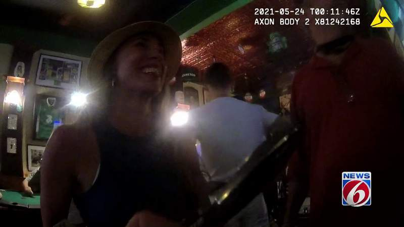 Body camera video shows Casey Anthony after Florida bar altercation