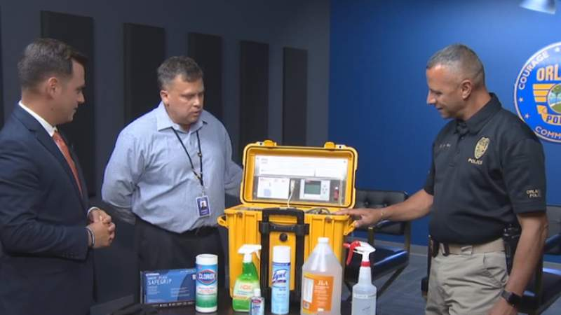 Team outfitted Orlando officers with PPE during the pandemic to 'support those who protect us'