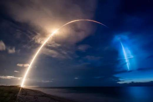 Photos: SpaceX launches ninth batch of Starlink satellites from Cape Canaveral
