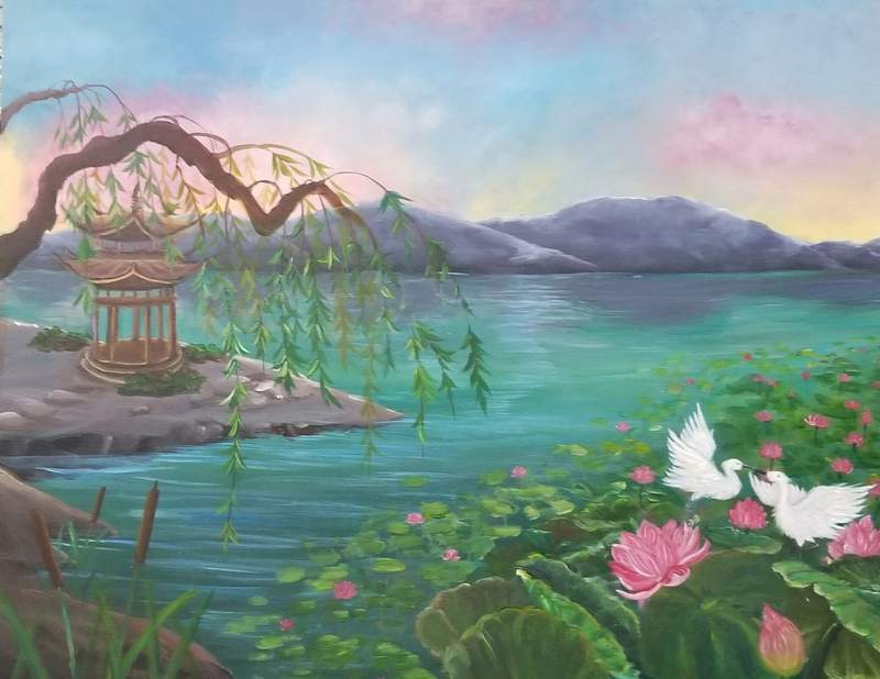 A previous submission to the Orange County Asian American Committee art contest's teen division.
