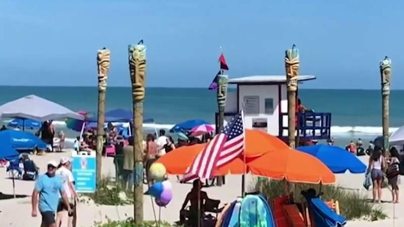 Brevard County beaches stay open during current state of coronavirus