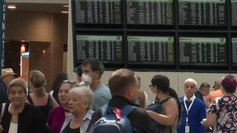 Orlando Airport to see significant drop in passengers beginning Monday, officials say