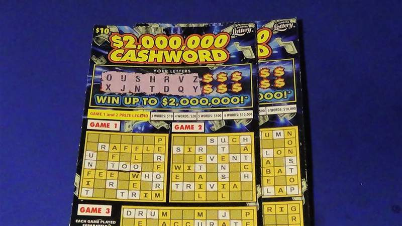 The Florida Lottery announces that Akram Awad, 42, of Jacksonville, claimed a $2 million top prize from the $2,000,000 CASHWORD Scratch-Off game at Florida Lottery Headquarters in Tallahassee.