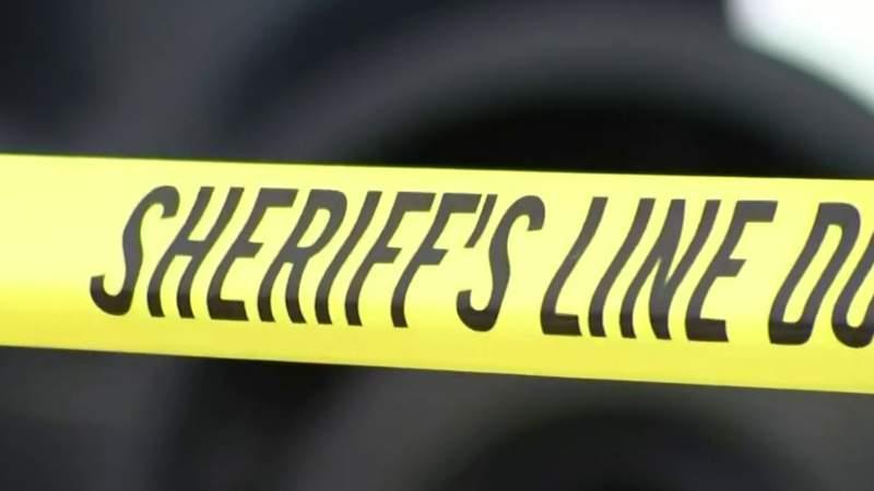 Sheriff's crime tape.
