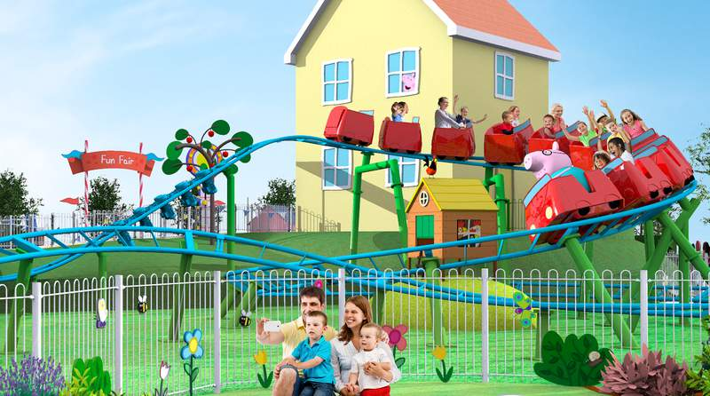 Daddy Pig's Roller Coaster coming to Peppa Pig theme park