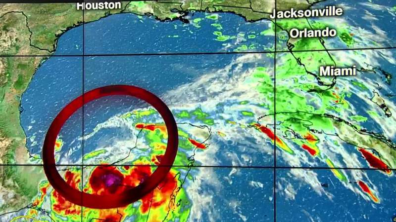 Much-needed rain falls in Central Florida; eyes on Cristobal