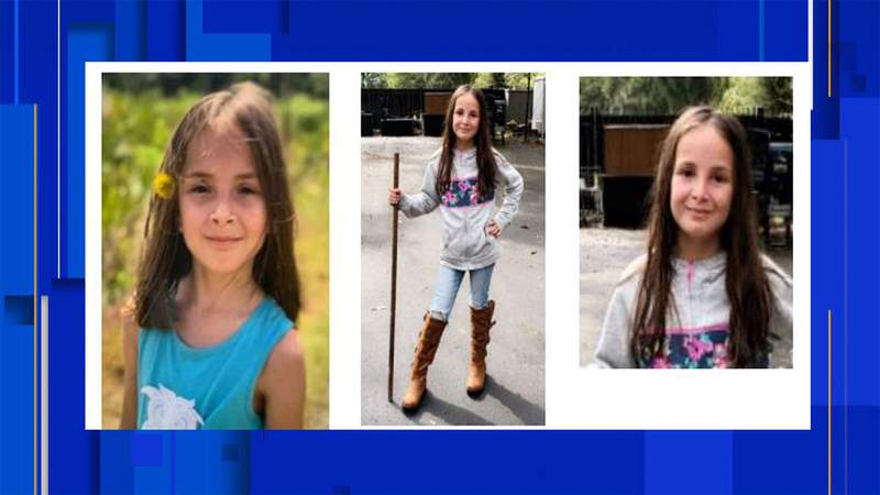 Jaylie Farrow, 10, was last seen April 19, 2021 around 10:30 a.m. Apopka police are asking for the public's help in locating her.