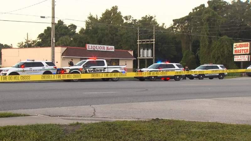 Orange County deputies investigate shooting.