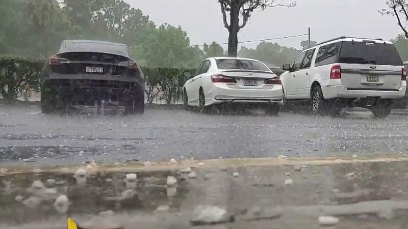 What the hail?!?! Crazy weather hits Central Florida