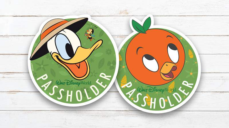 Passholder-Exclusive Magnets given out at the 2020 Epcot International Flower & Garden Festival