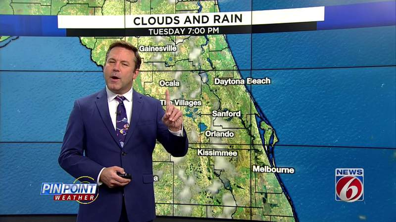 High pollen count, heat hit Central Florida