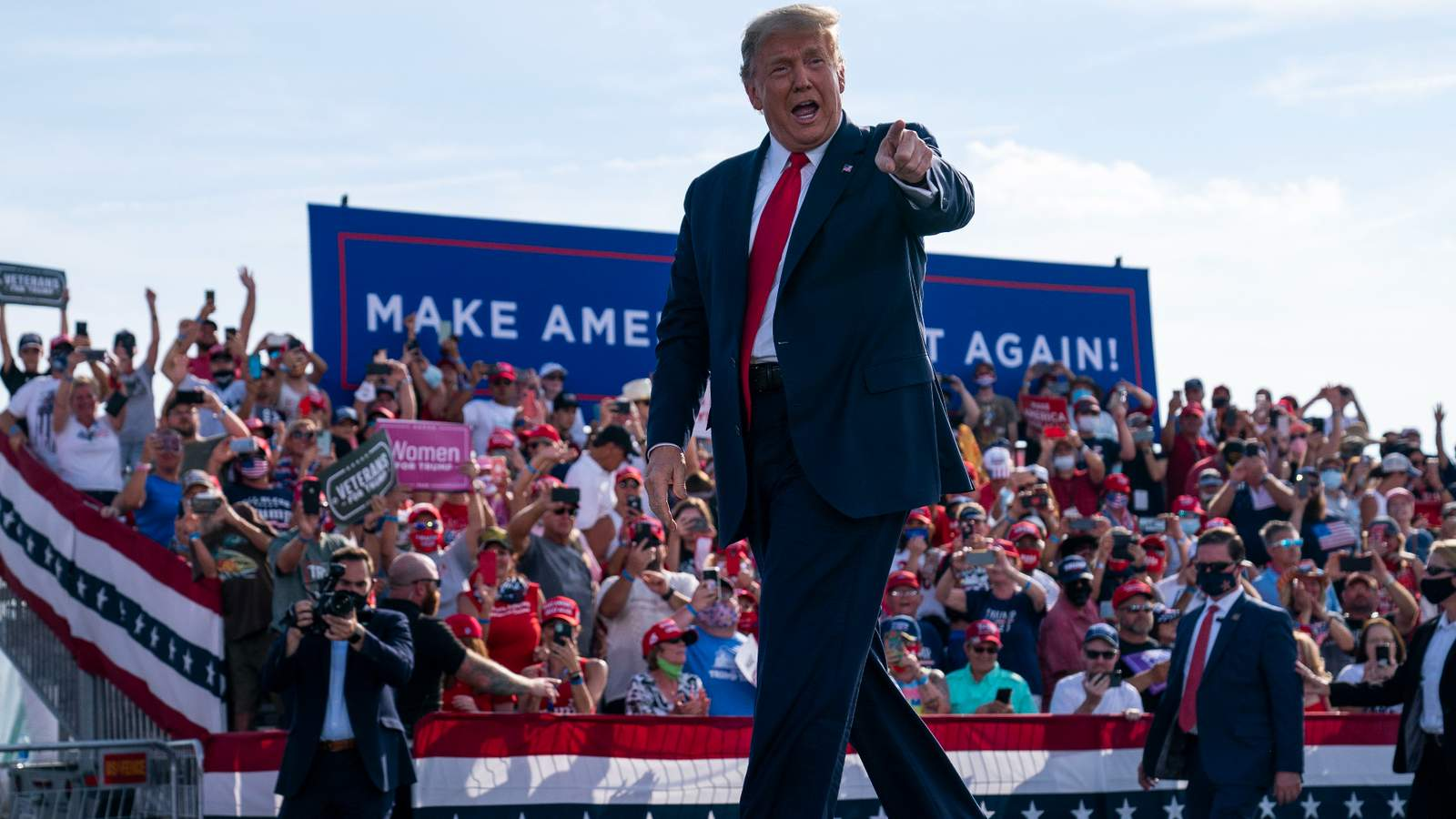 President Trump to campaign in Central Florida Friday