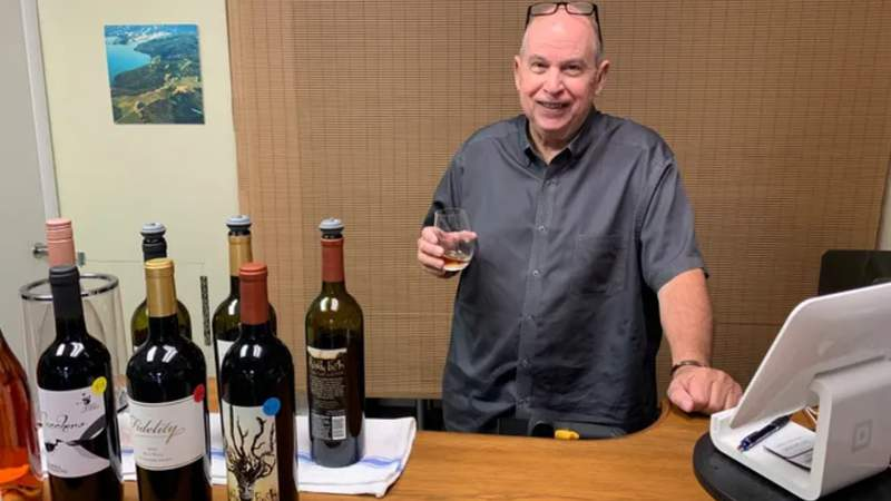 Tim Campbell, owner and consumption expert at Beachside Wines
