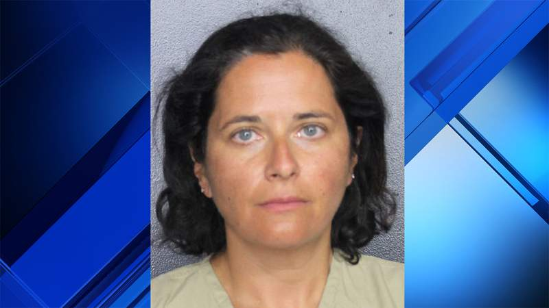 Marina Verbitsky, 46, of Chicago, is accused of making a bomb threat at Fort Lauderdale-Hollywood International Airport on Monday night.